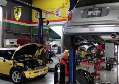 Mini Cooper Rotary Lift Engine Repair
